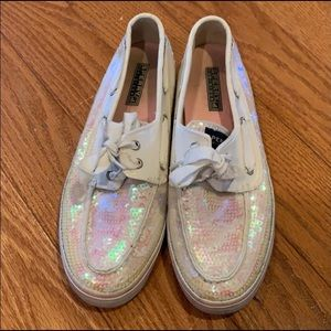 Sperry Boat Shoes with Sequins!